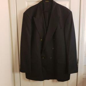 Oscar de la Renta Black Blazer Size 50L